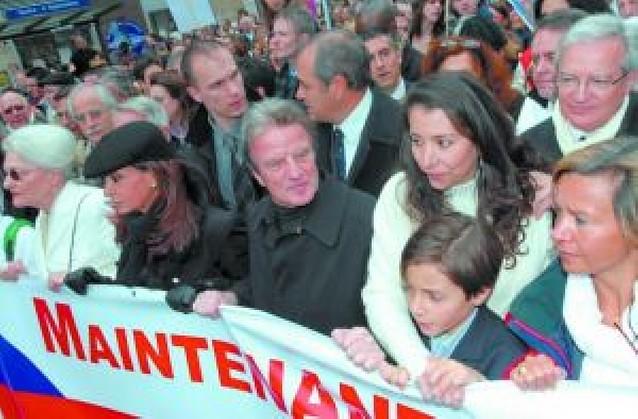 Manifestaciones en toda Francia por la libertad de la rehén Ingrid Betancourt