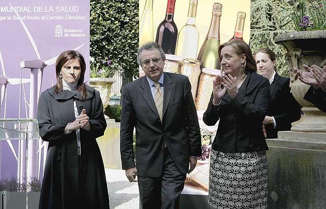 El Gobierno de Navarra y el Parlamento centran el Día Mundial de la Salud en el cambio climático