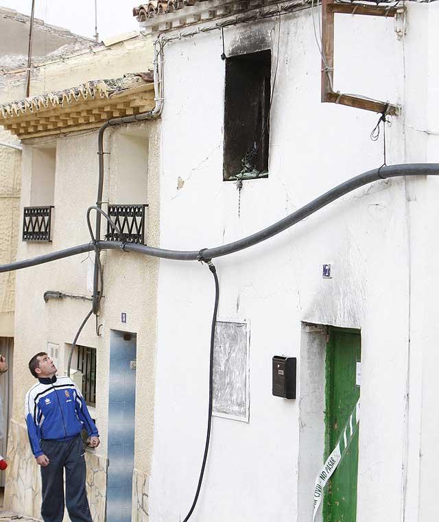 Una niña de dos años muere en un incendio en la localidad zaragozana de Mallén