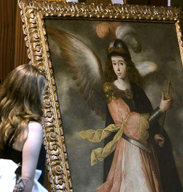 Cuatro detenidos por el robo de obras de arte valoradas en 600.000 euros
