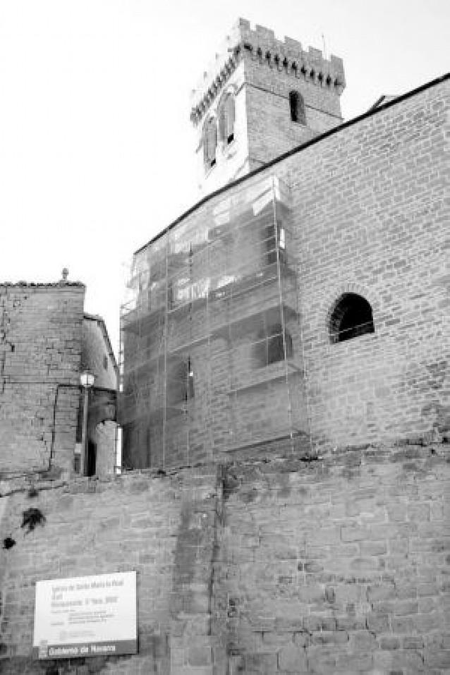 Príncipe de Viana prevé cerrar la iglesia de Ujué en octubre para reformar su interior