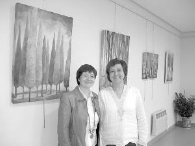 El club de lectores de Mendavia organiza su primera exposición