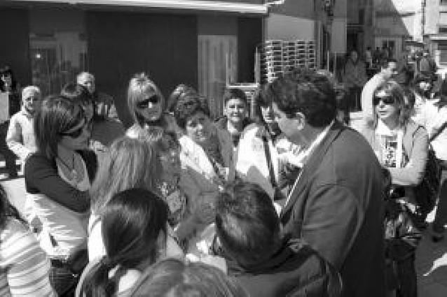 Nueva protessta de trabajadoras de Rehabital en Tudela