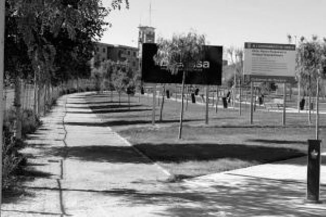 El parque de la Champiñonera se vuelve a retrasar y no se terminará hasta junio