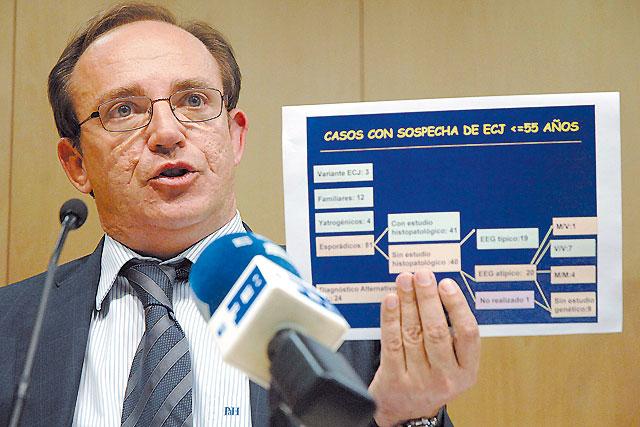 """Dos personas mueren en León por la variante humana de las """"vacas locas"""""""
