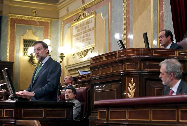 """Rajoy, dispuesto a alcanzar pactos con el PSOE tras las """"rectificaciones"""" de Zapatero"""