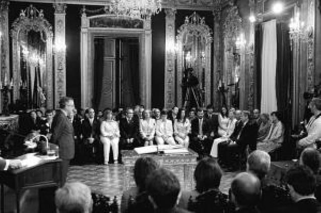 """El presidente y los consejeros no tendrán el trato de """"excelencia"""""""