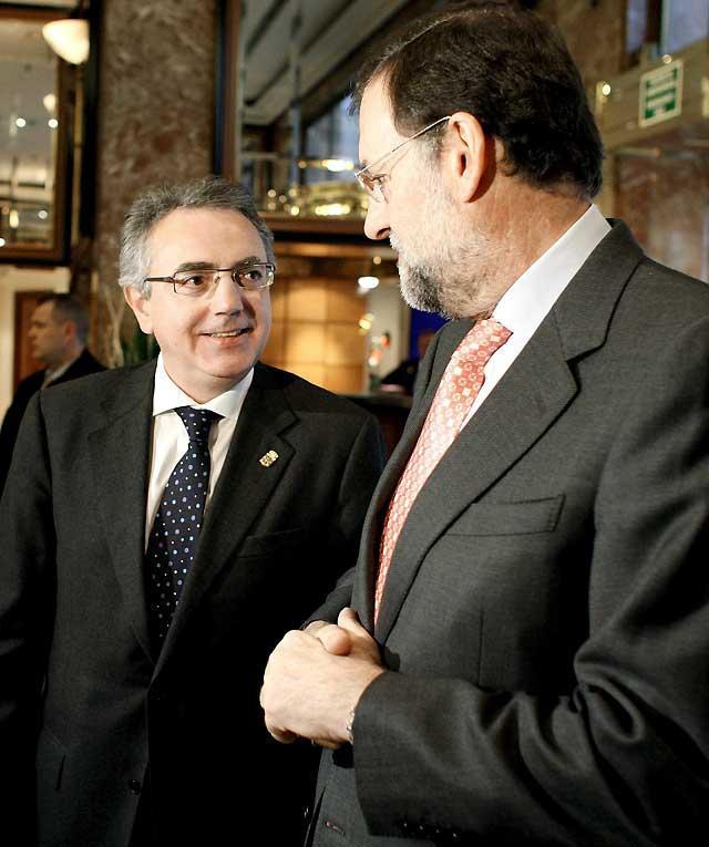 """Miguel Sanz pide al PP un """"gesto positivo"""" en el voto de la investidura"""