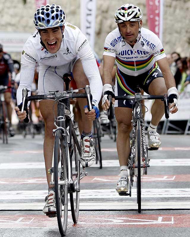 David Herrero (Karpin-Galicia) se impone al sprint en Viana