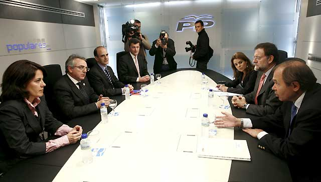 """Catalán valora positivamente el encuentro entre Sanz y Rajoy y dice que las relaciones UPN-PP """"son fluidas"""""""