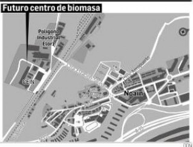 Cener abrirá un centro de biomasa en el polígono Mocholi de Noáin