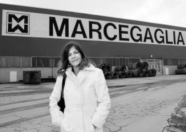 """La """"Lady Acero"""" de la empresa italiana"""