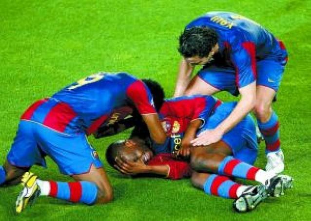 El Barça respira en Europa