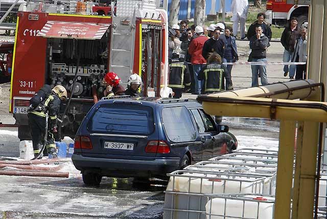 Una explosión en una planta química del grupo Ercros en Aranjuez deja un muerto y 3 heridos graves