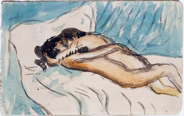 Una pintura de Picasso hallada en una vivienda inglesa se vende en subasta por más de 100.000 euros
