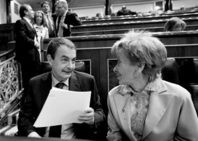 Zapatero será elegido hoy en el Congreso con los votos del PSOE