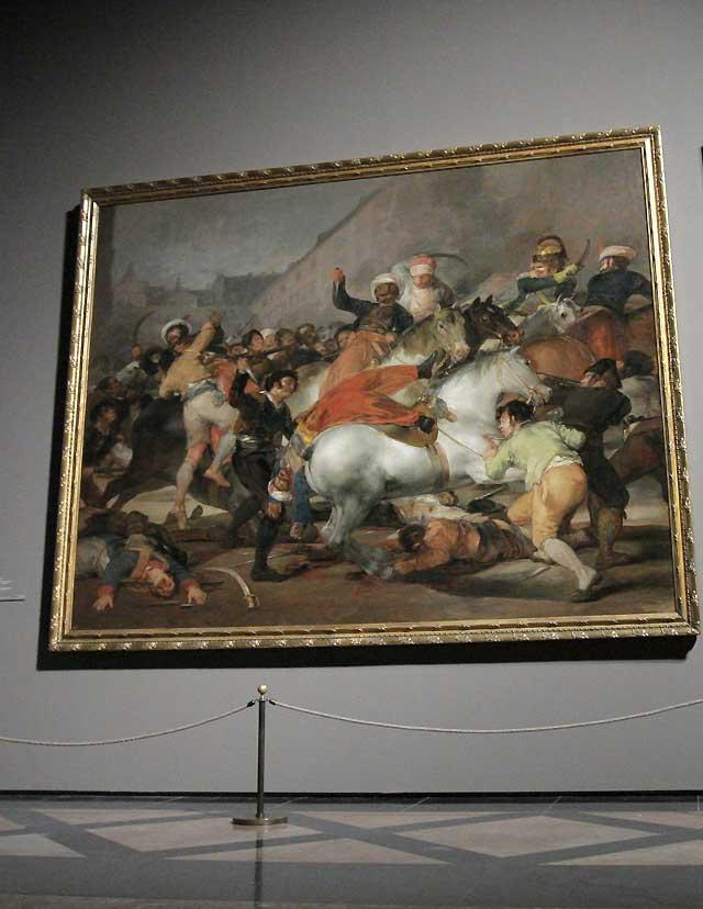 El Prado expone la visión de Goya en tiempos de guerra