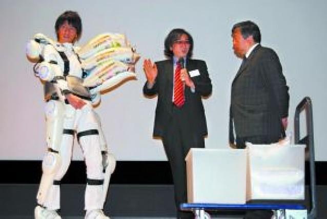 Inventan un robot-traje para aumentar la fuerza de ancianos y discapacitados