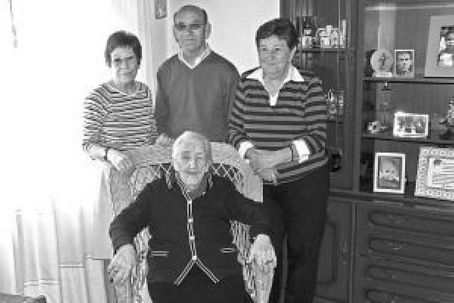 La valtierrana Ramos Jiménez cumple 100 años