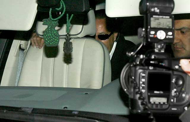 Julián Muñoz sale de la cárcel con un permiso de tres días y se reúne con sus hijas