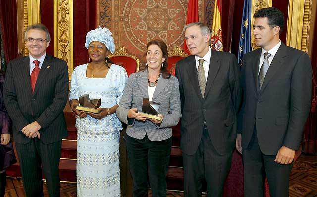 Mama Samateh y la ONG Wassu Gambia Kafo reciben el Premio Navarra a la Solidaridad