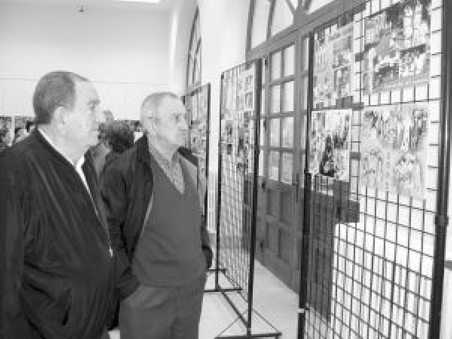 La sociedad Peñaguda de Estella ilustra sus 50 años con una muestra fotográfica