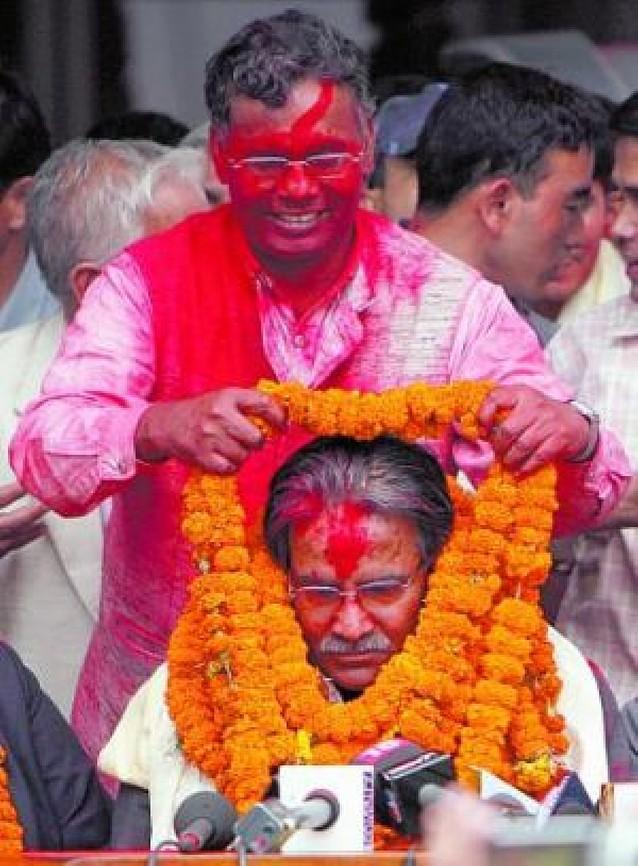 Los maoístas nepalíes ganan importantes circunscripciones