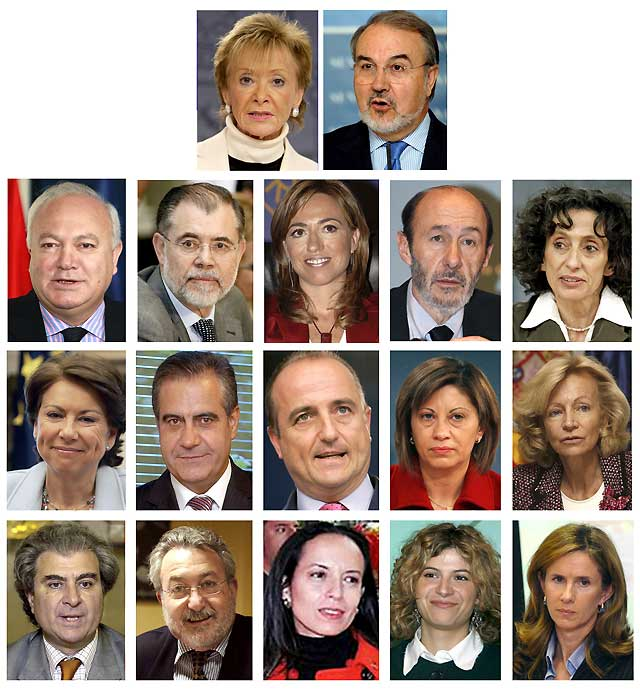 Rodríguez Zapatero prometió ante el Rey el cargo de presidente del Gobierno