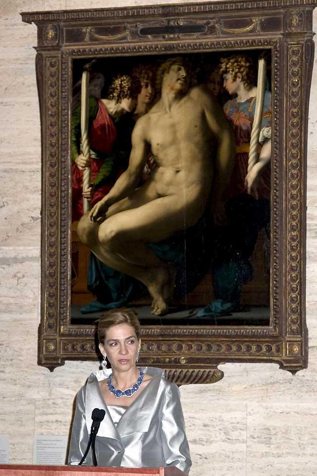 Los Duques de Palma inauguran en Boston dos exposiciones sobre arte español