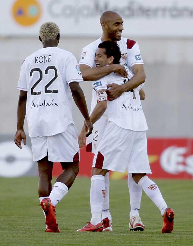 El Sevilla sigue soñando con la Champions con su triunfo en Malorca (2-3)