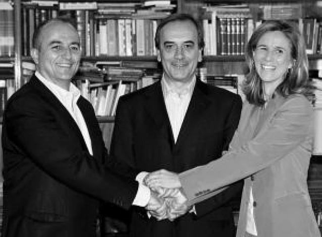 Reunión de Alonso con Garmendia y Sebastián