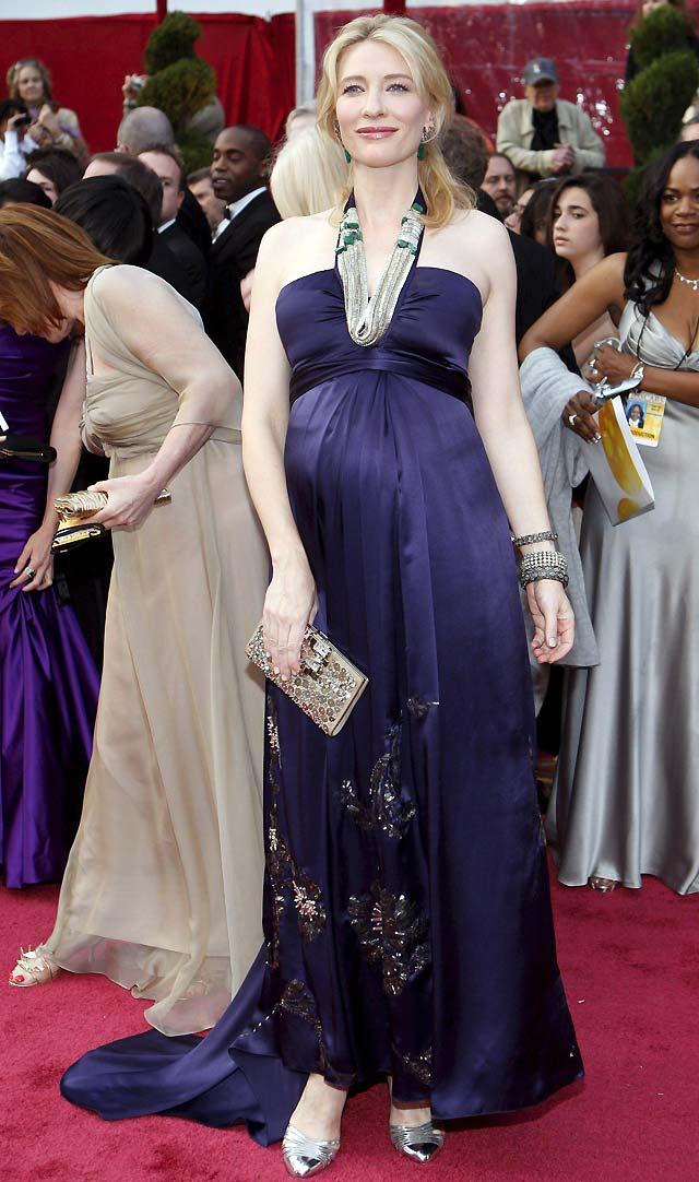La atriz australiana Cate Blanchett da a luz a su tercer hijo