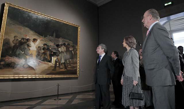 Los Reyes inauguran una de las muestras más importantes y ambiciosas sobre Goya en el Museo del Prado
