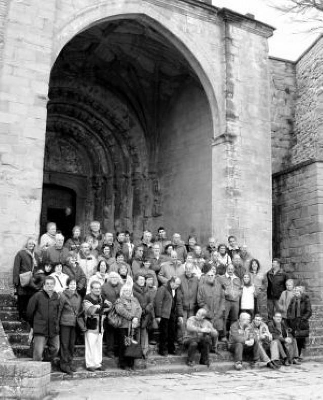 Los alumnos de belenismo visitan Sos del Rey católico