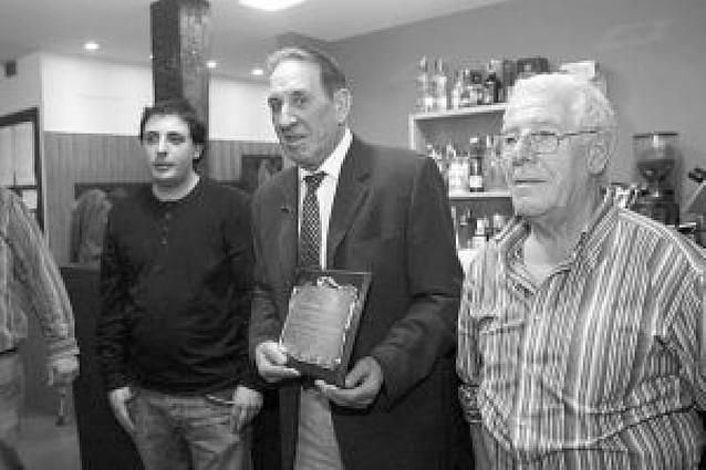 Homenaje al maquinista Guillermo González Angulo