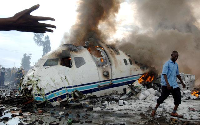 Una nueva tragedia aérea en el Congo causa al menos 63 muertos
