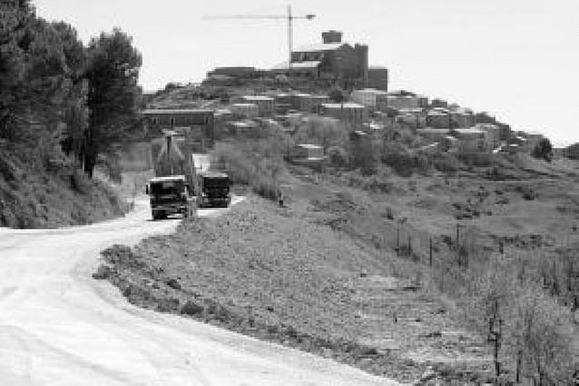 Las obras en la carretera de acceso a Ujué no afectarán a las romerías
