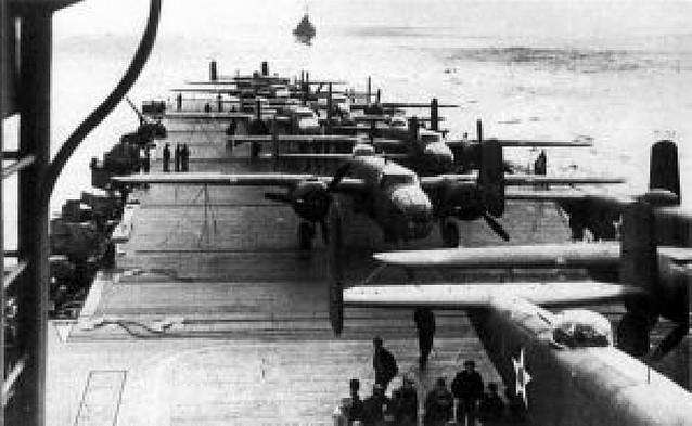 El primer bombardeo de Tokio