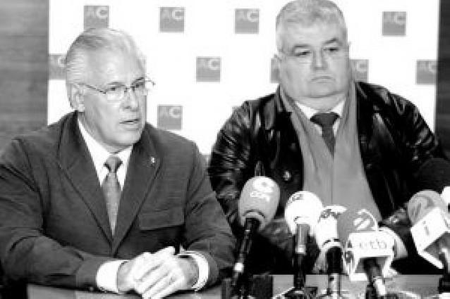 """Galarraga ve a Balic """"con pie y medio"""" fuera del club"""