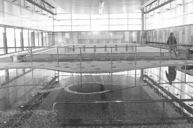 La nueva piscina cubierta abrirá sus puertas el lunes