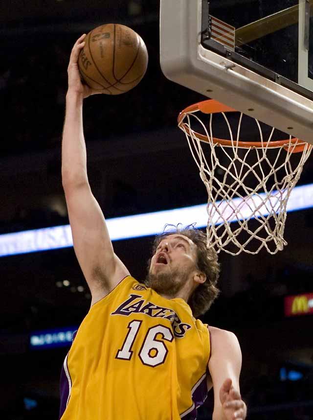 Gasol convierte a los Lakers en campeones de la Conferencia Oeste