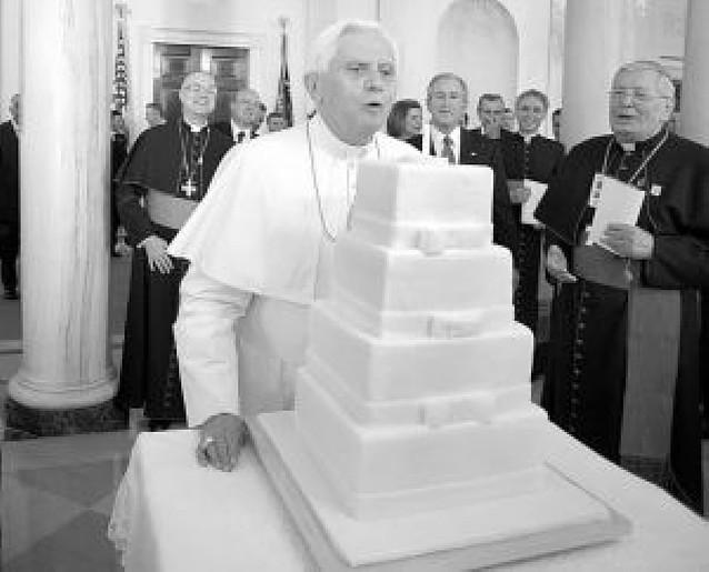 Expectación en Washington por ver pasar al Papa Benedicto XVI