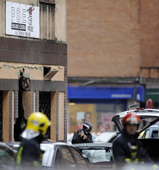 El alcalde de Bilbao dice que la onda expansiva no afectó a la estructura de las viviendas cercanas