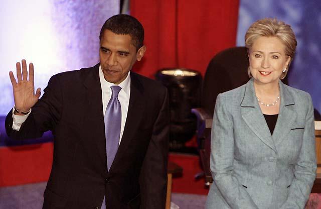 Clinton y Obama se enfrentan en un debate crucial de cara a las primarias de Pensilvania