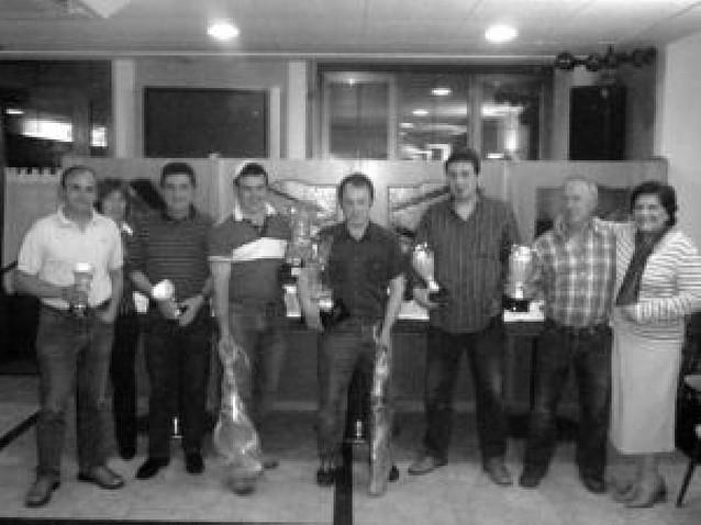 Hotel Irigoyen (Zudaire) finaliza su décimo campeonato de mus