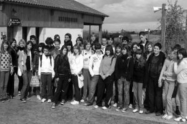 Alumnos del IES Benjamín de Tudela visitan Senda Viva