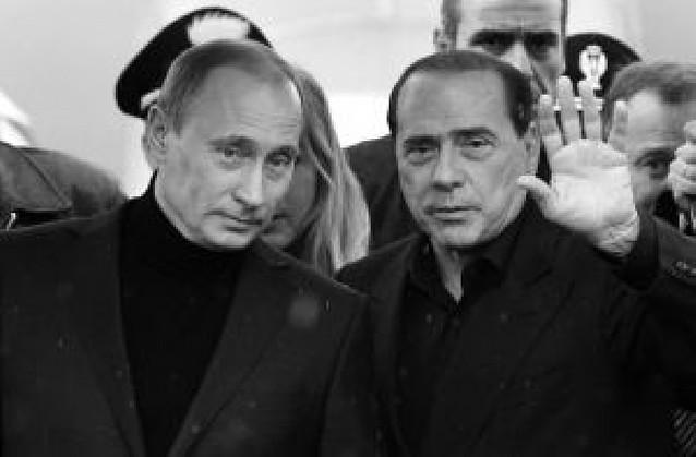 Vladimir Putin viaja a Cerdeña para entrevistarse con Silvio Berlusconi