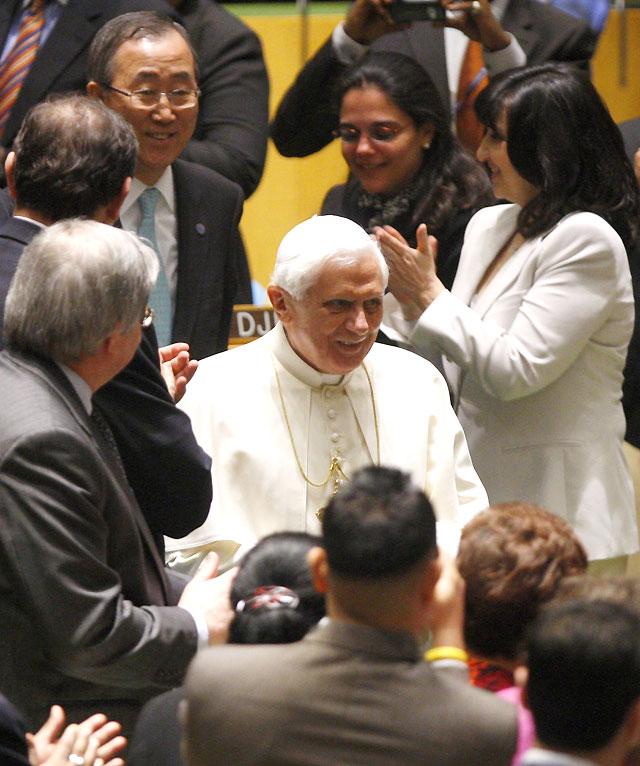 """El Papa lamenta en la ONU que las acciones internacionales dependan """"de las decisiones de unos pocos"""""""