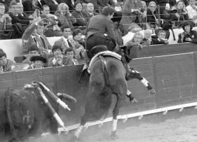 Hermoso de Mendoza topó en la plaza de Lisboa con dos toros mansos y rajados