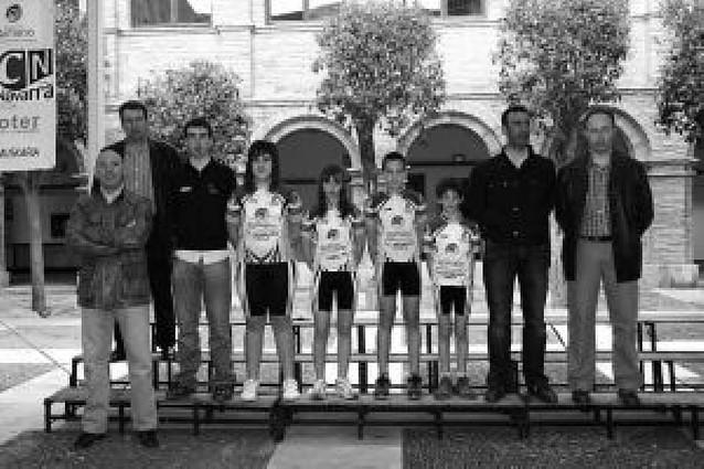 Tudela presenta a sus ciclistas